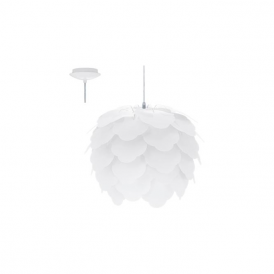 92888 Filetta 1 Light Ceiling Pendant White