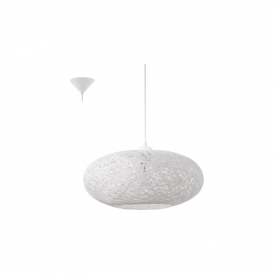 93373 Campilo 1 Light Ceiling Pendant White