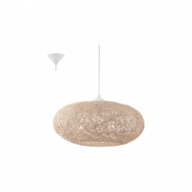 93374 Campilo 1 Light Ceiling Pendant Beige