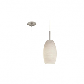 Eglo 93188 Batista 3 1 Light Ceiling Pendant Satin Nickel