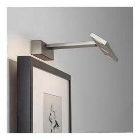 7601 Vermeer 300 3 Light LED Picture Light Matt Nickel