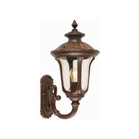 Elstead CC1/S Chicago 1 Light Outdoor Wall Lantern Bronze IP44