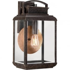 Elstead Quoizel QZ/BYRON/M Byron 1 Light Outdoor Wall Lantern Bronze IP44