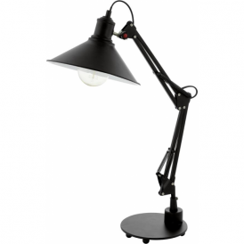 Eglo 94679 Chantry 1 Light Table Lamp Black