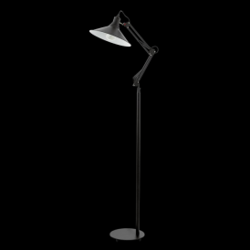 Eglo 94681 Chantry 1 Light Floor Lamp Black