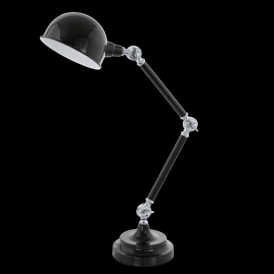 Eglo 94706 Lasora 1 Light Table Lamp Black