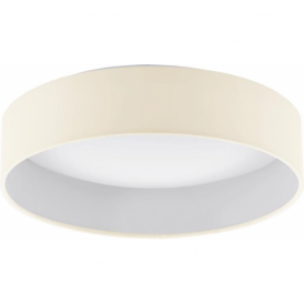 Eglo 93392 Palomaro LED Flushed Ceiling Light Cream