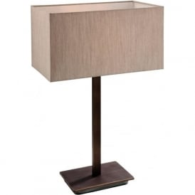 Firstlight 8329BZOY Prince 1 Light Table Lamp Bronze