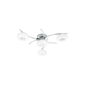 Eglo 95908 Locanda 1 4 Light Ceiling Light Polished Chrome