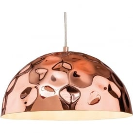 Firstlight 3445CP Enigma 1 Light Pendant Copper