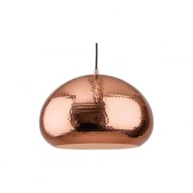 Firstlight 2351CP Assam 1 Light Pendant Copper