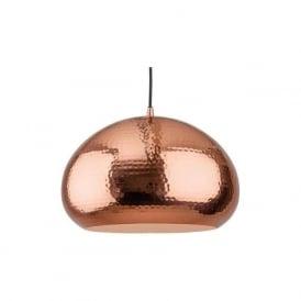 Firstlight 2351CP Assam 1 Light Pendant Copper