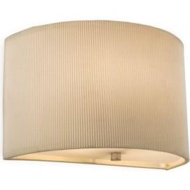 Firstlight 8632CR Clio Wall Light Cream