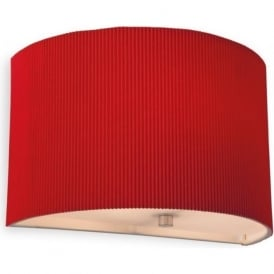 Firstlight 8632RE Clio Wall Light Red