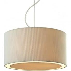 Firstlight 8311CR Clio Ceiling Pendant Light Cream