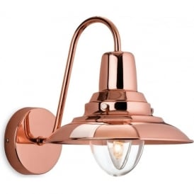 Firstlight 8686CP Fisherman 1 Light Wall Light Copper