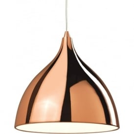 Firstlight 5746CP Cafe 1 Light Ceiling Copper