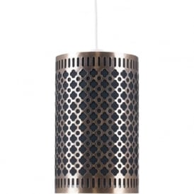 Pacific Lifestyle 33-053-AB Neo Non Electric Easy Fit Pendant Antique Brass