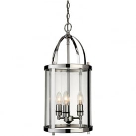 Firstlight 8301CH Imperial 3 Light Lantern Pendant Polished Chrome