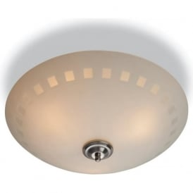 Firstlight 8315 Daisy 3 Light Flush Ceiling Light Opal