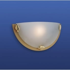 Firstlight W200SB Champagne Wall Light Satin Brass
