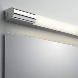 7619 Palermo 600 LED IP44 Bathroom Wall Light Chrome