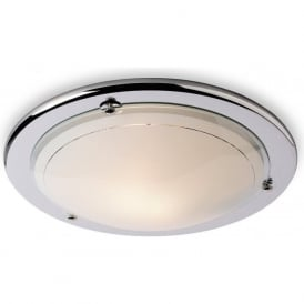 Firstlight CF17CH Flush Fitting Ceiling Light Polished Chrome
