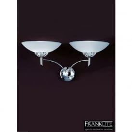 FL2006/2 Fizz 2 Light Wall Light Chrome