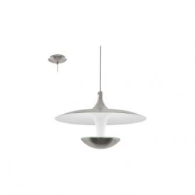 Eglo 95955 Toronja 1 Light Ceiling Light Matt Nickel