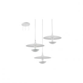 Eglo 95959 Toronja 3 Light Ceiling Light White