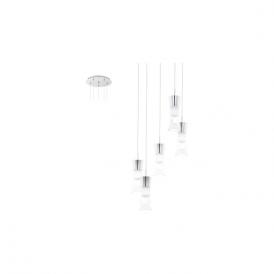 Eglo 94359 Pancento 5 Light Ceiling Light Polished Chrome