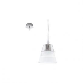 Eglo 94479 Pancento 1 Light Ceiling Light Polished Chrome
