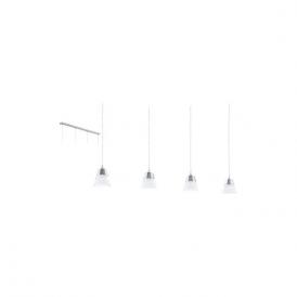 Eglo 94356 Pancento 4 Light Ceiling Light Polished Chrome