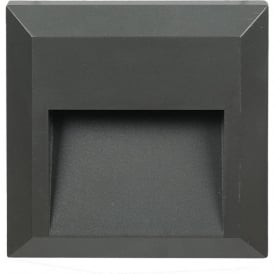 Pacific Lifestyle 40-035 Severus LED Wall Surface Slimline Brick Light IP65 Grey