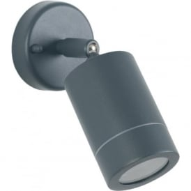 Pacific Lifestyle 40-023 Lantana 1 Light Adjustable Outdoor Wall Light Grey IP44