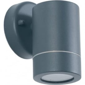 Pacific Lifestyle 40-021 Lantana 1 Light Outdoor Wall Light Dark Grey IP44
