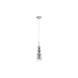 Eglo 95555 Bolanos 1 Light Ceiling light Chrome