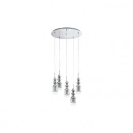 Eglo 95561 Bolanos 5 Light Ceiling light Chrome