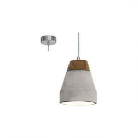 Eglo 95525 Tarega 1 Light Ceiling Pendant Grey