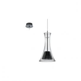 Eglo Musero 93794 1 Light Ceiling Pendant Nero Nickel