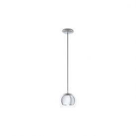 Eglo 94592 Rocamar 1 Light Ceiling Light Polished Chrome