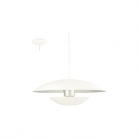 Eglo 95756 Nuvano 1 Light Ceiling Light White/Silver