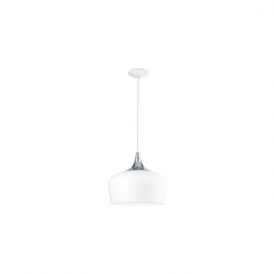 Eglo 95384 Obregon 1 Light Ceiling Pendant White