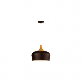 Eglo 95385 Obregon 1 Light Ceiling Pendant Brown