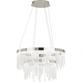 Eglo 39281 Antelao 1 Light Ceiling Light Polished Chrome