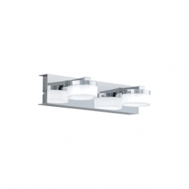 Eglo 94652 Romendo 2 Light Wall Light Polished Chrome IP44