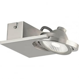 Eglo 39247 Brea 1 Spotlight Satin Nickel IP20