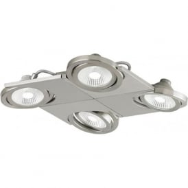 Eglo 39251 Brea 4 Spotlight Satin Nickel IP20