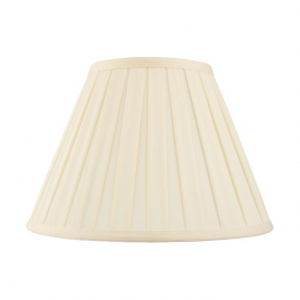 CARLA-18 Non Electric Cream Fabric Shade