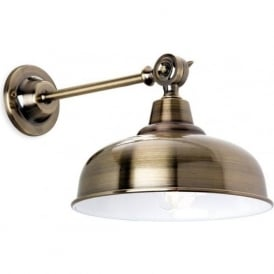 FirstLight 5934AB Preston Wall Light Antique Brass